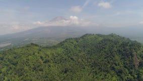 Ilha de Jawa da paisagem da montanha, Indonésia vídeos de arquivo