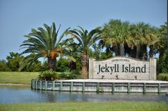 Ilha de Jekyll imagem de stock royalty free