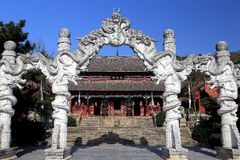 Ilha de Junshan na área do lago Dongting fotos de stock royalty free