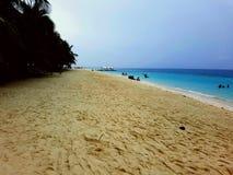 Ilha de Kalanggaman Foto de Stock Royalty Free