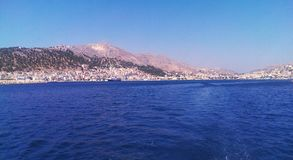 Ilha de Kalimnos Imagem de Stock