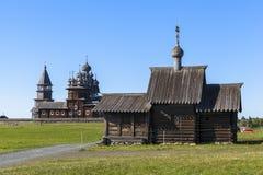 Ilha de Kizhi em Rússia fotos de stock royalty free