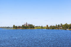 Ilha de Kizhi em Rússia fotografia de stock