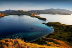 Parque nacional da ilha de Komodo Foto de Stock