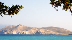Ilha de KRK - Croácia Imagem de Stock