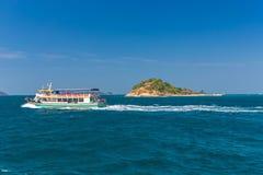 Ilha de Krok fotos de stock royalty free
