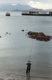 Ilha de Lamma em Hong Kong Foto de Stock
