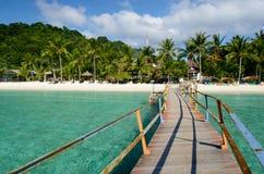 Ilha de Lang Tengah, terengganu malaysia foto de stock royalty free