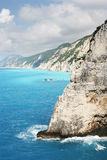 Ilha de Lefkada Foto de Stock