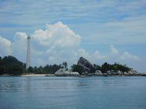 Ilha de Lengkuas Foto de Stock Royalty Free