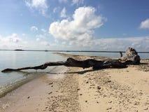 Ilha de Liwungan fotografia de stock