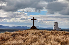 Ilha de Llandwyn foto de stock