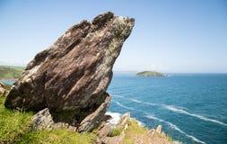 Ilha de Looe em Cornualha Reino Unido Inglaterra imagem de stock royalty free