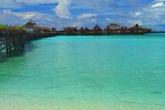 Ilha de Mabul imagens de stock royalty free