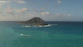 Ilha de Manana da vigia do makapuu em oahu vídeos de arquivo