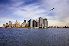 Ilha de Manhattan Fotografia de Stock Royalty Free