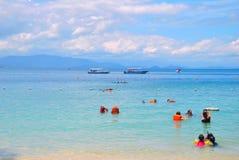 Ilha de Manukan Fotografia de Stock Royalty Free