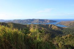 Ilha de Mochima do parque nacional na Venezuela Fotos de Stock Royalty Free