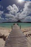 Ilha de Motu em Tahiti Foto de Stock Royalty Free