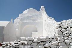 Ilha de Mykonos em Grécia Imagem de Stock Royalty Free