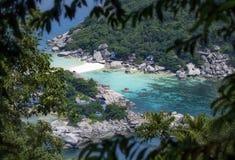 Ilha de Nang Yuan, Tailândia Imagens de Stock