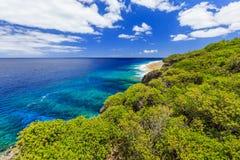 Ilha de Niue fotografia de stock