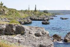 A ilha de Nova Caledônia fotografia de stock