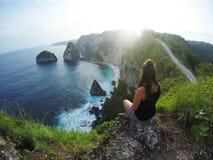 Ilha de Nusa Penida, conceito exótico fotos de stock