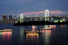 Ilha de Odaiba imagens de stock