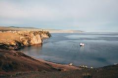 Ilha de Olkhon no Lago Baikal Foto de Stock