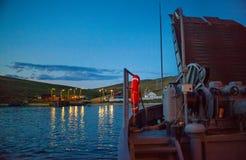 Ilha de Olkhon, o Lago Baikal Fotos de Stock