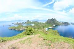 Ilha de Padar, Flores Imagem de Stock Royalty Free
