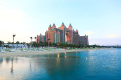 Ilha de palma Dubai Fotografia de Stock