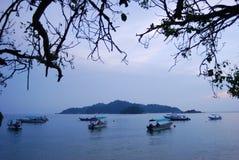 Ilha de Pangkor imagem de stock royalty free