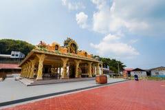 Ilha de Pangkor do templo do hinduism de Kaliamman fotografia de stock