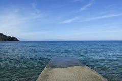 Ilha de Patmos, Grécia Fotografia de Stock Royalty Free