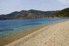 Ilha de Patmos, Grécia Fotos de Stock Royalty Free