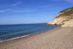 Ilha de Patmos, Grécia Imagens de Stock