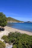 Ilha de Patmos, Grécia Imagem de Stock