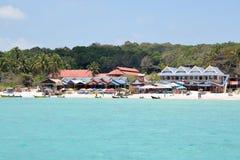 Ilha de Perhentian, Malásia Fotografia de Stock Royalty Free