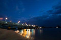 Ilha de Phuket da ponte de Sarasin foto de stock