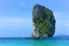 Ilha de Poda em Krabi Tailândia fotos de stock royalty free
