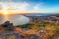 A ilha de portland Imagem de Stock Royalty Free