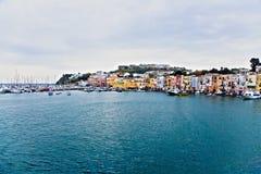 Ilha de Procida Imagem de Stock Royalty Free