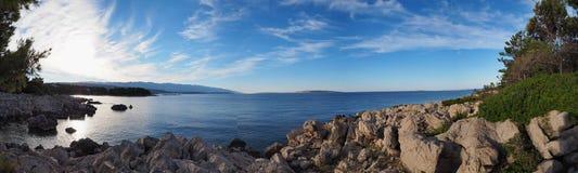Ilha de Rab, mar Mediterrâneo, Croácia Imagem de Stock Royalty Free