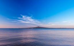 Ilha de Rangitoto - Auckland, Nova Zelândia Fotos de Stock