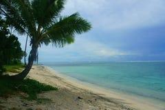 Ilha de Rarotonga Foto de Stock