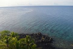 Ilha de Samber Gelap, Kotabaru, Bornéu sul, Indonésia Fotos de Stock Royalty Free