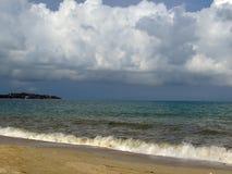 Ilha de Samui da praia da nuvem Foto de Stock Royalty Free