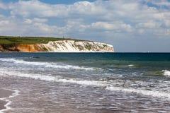 Ilha de Sandown do Wight Inglaterra Reino Unido foto de stock